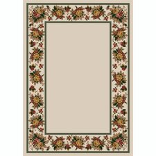 Design Center Opal Floral Lace Area Rug