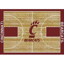 College Court NCAA Cincinnati Novelty Rug