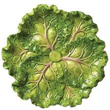 "Tuscan Garden 10"" Cabbage Plate"