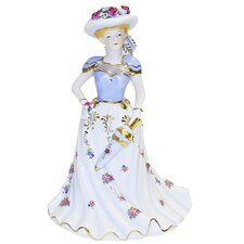Victorian Lady Musical Figurine