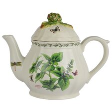 Herb de Provence 1-qt. Basil and Chives Teapot