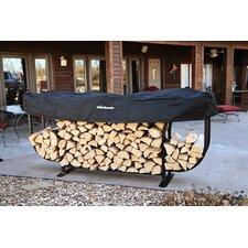 Steel Courtyard Log Rack