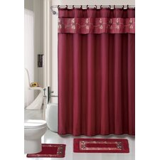 Beverly 15 Piece Shower Curtain Set