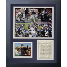 Dallas Cowboys 1971 Champs Framed Photo Collage