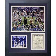Dallas Cowboys Greats Framed Photo Collage