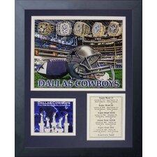 Dallas Cowboys Cowboy Rings Framed Photo Collage