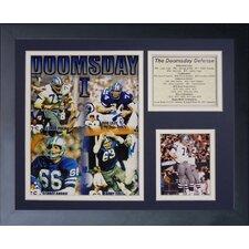 Dallas Cowboys Doomsday Machine Framed Photo Collage