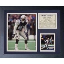 Dallas Cowboys Deion Sanders Framed Photo Collage