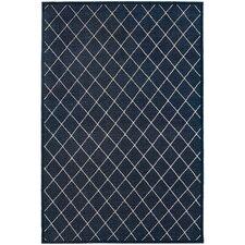 Eaton Navy/Ivory Trellis Indoor Area Rug