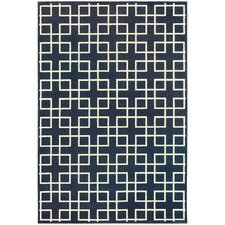 Eaton Navy/Ivory Indoor Area Rug
