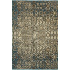 Payton Beige/Blue Indoor Area Rug