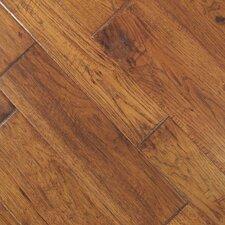 Tuscan Random Width Engineered Hickory Hardwood Flooring in Toscana