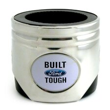 Built Ford Tough Stainless Steel Piston Coozie