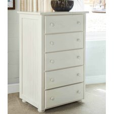 Coastal 5 Drawer Dresser