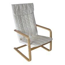 Aquios Bentwood High Back Arm Chair