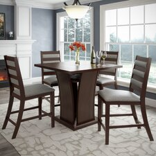 Bistro 5 Pieces Counter Height Dining Set
