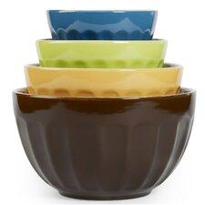 4 Piece Cafe Multi Mixing Bowl Set