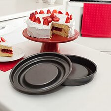 Bakeware Innovations 2 Piece Round Fill N Flip and Slice N Easy Set