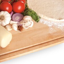 24'' Solid Maple Cutting Board with Drip Guard