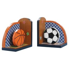 Lil' Sports Fan Book End (Set of 2)