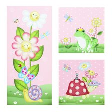 Magic Garden 3 Piece Canvas Art Set
