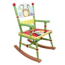 Sunny Safari Kids Rocking Chair