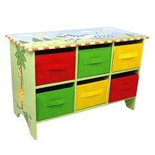 Sunny Safari Storage 6 Compartment Cubby Base Set