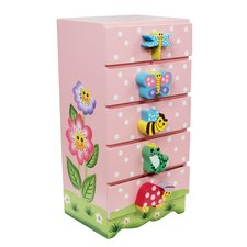 Fantasy Fields 5 Drawer Magic Garden Trinket Chest