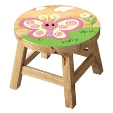Fantasy Fields Butterfly Wooden Stool