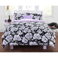 Midnight Poppies Comforter Set