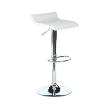Emma Adjustable Height Bar Stool with Cushion