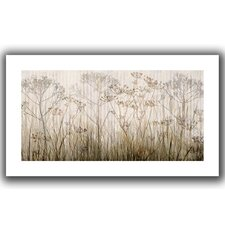 'Wildflowers Ivory' Canvas Poster