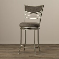 "24"" Swivel Bar Stool with Cushion"