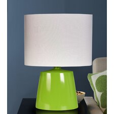 "19"" H Table Lamp with Oval Shade"