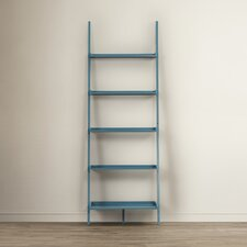 "Sandstrom 72"" Leaning Bookcase"