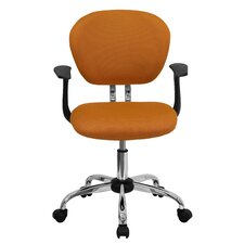 Capanagh Mid-Back Adjustable Height Office Chair