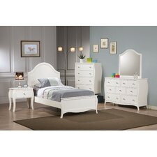 Pasani Twin Panel Customizable Bedroom Set