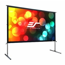 YardMaster2 Foldable-Frame Outdoor Front Projection Movie Screen