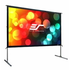 YardMaster Foldable Outdoor Portable Light Weight Rear Projection Movie Screen