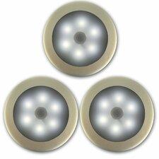 Battery Powered LED Wireless Motion Sensing Light (Set of 3)