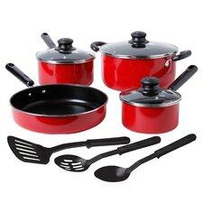 Colorsplash Merville 10 Piece Cookware Set
