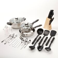 Lybra 32 Piece Cooking Utensil Set