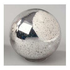 Mercury Glass Sphere Decorative Ball
