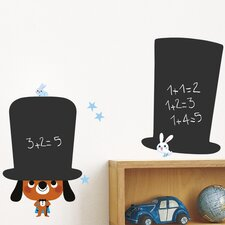 The Magician Water Resistant Chalkboard Wall Decal