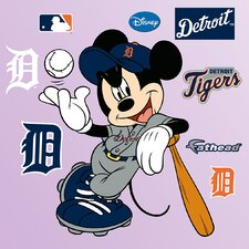 MLB Mickey Mouse Wall Decal