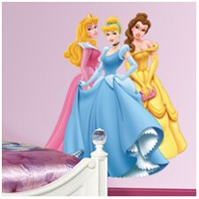 Aurora, Cinderella and Belle Wall Decal
