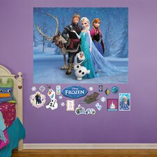 RealBig Disney Frozen Group Wall Decal