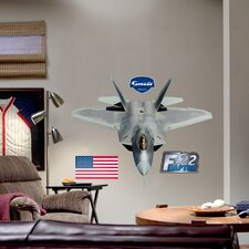 Military F-22 Raptor Wall Decal