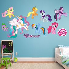Hasbro My Little Pony Peel and Stick Wall Decal