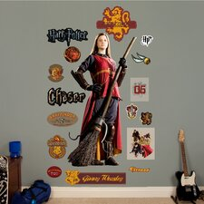 Harry Potter Ginny Weasley Quidditch Chaser Peel and Stick Wall Decal